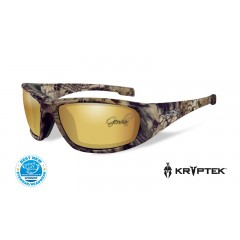 Очила Wiley X BOSS Polarized Amber Gold Mirror Kryptek Highlander Frame