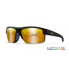Очила Wiley X COMPASS Captivate Bronze Mirr. Matte Black Frame