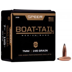 Куршуми Speer 7mm Boat-Tail Rifle Bullet .284 100ct.