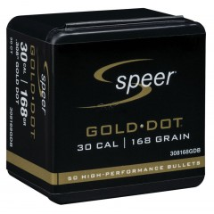 Куршуми Speer Gold Dot Rifle Component Bullet .308 168gr. 50ct