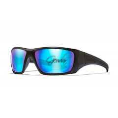 Очила Wiley X NASH Polarized Blue Mirror Matte Black Frame