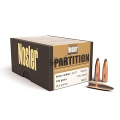 Куршуми Nosler 6mm 100gr Partition® Bullet (50ct)