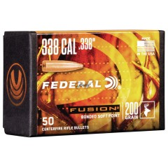 Куршуми Federal Fusion Component Bullet .338 200gr. 50ct.