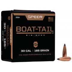 Куршуми Speer Boat-Tail Rifle Bullet 165gr. .308 100ct.