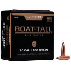 Куршуми Speer Boat-Tail Rifle Bullet 180gr. BT SP .308 100ct.