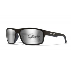 Очила WIley X PEAK Grey Silver Flash Gloss Black Frame